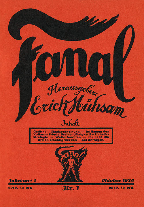 Cover_Fanal_Nr_1_1926_Oktober_500px