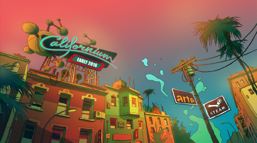 Making of Californium / Neue Level bei ARTE Creative